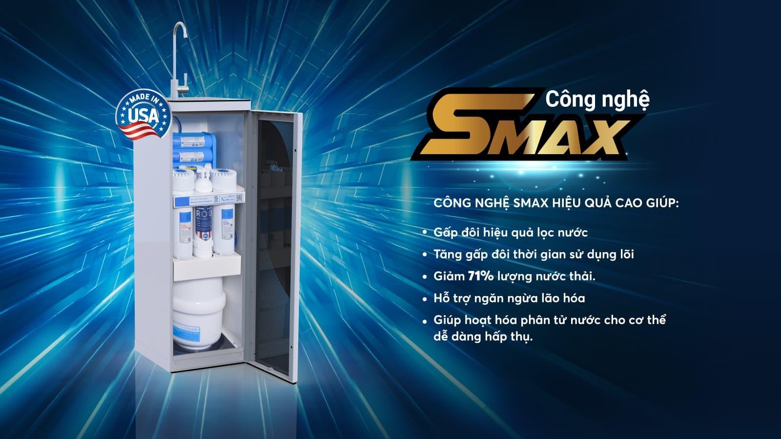 Công nghệ Smax mạnh mẽ