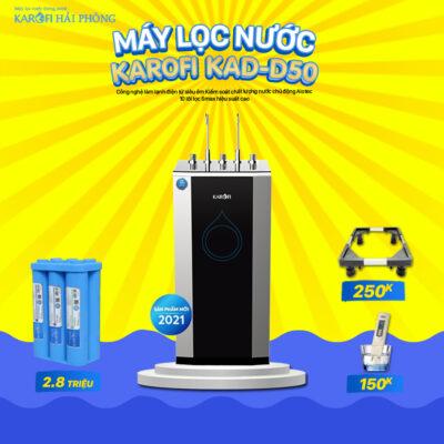 D50 Khuyến mãi Karofi Hải Phòng: Mua máy lọc nước - Rinh ngay quà lớn