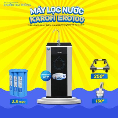 ERO100 Khuyến mãi Karofi Hải Phòng: Mua máy lọc nước - Rinh ngay quà lớn