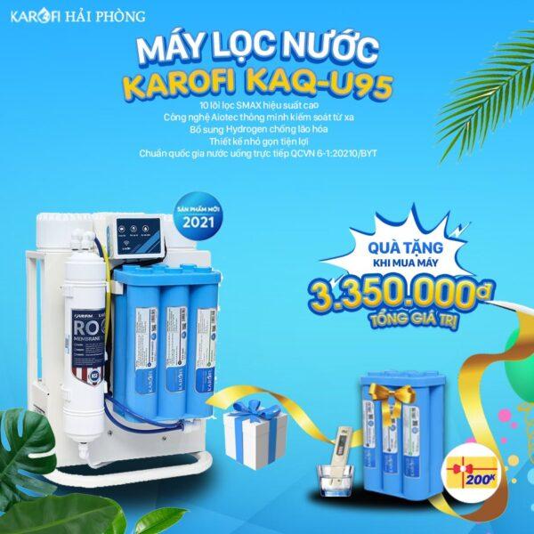 Máy lọc nước karofi U95