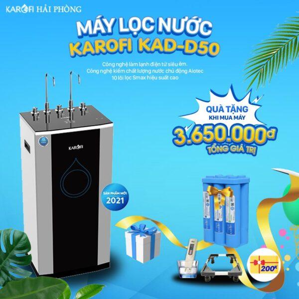 máy lọc nước karofi KAD-D50