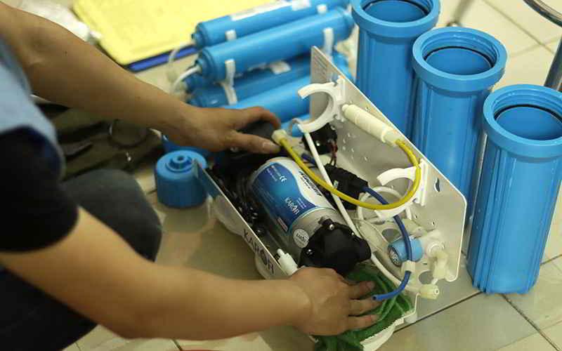 thay lõi lọc nước